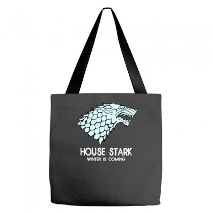 House Stark Winter Is Coming Tote Bags Designed By Wisnuta1979