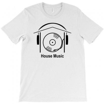 House Music T-shirt Designed By Wisnuta1979