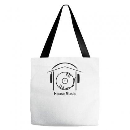 House Music Tote Bags Designed By Wisnuta1979