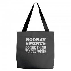 hooray sports win points Tote Bags | Artistshot