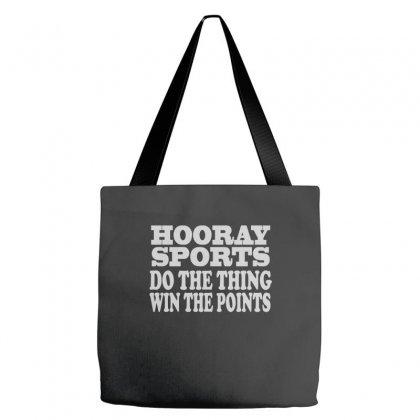 Hooray Sports Win Points Tote Bags Designed By Wisnuta1979