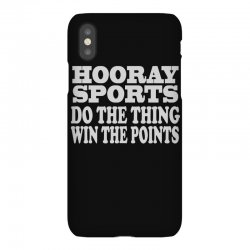 hooray sports win points iPhoneX Case   Artistshot