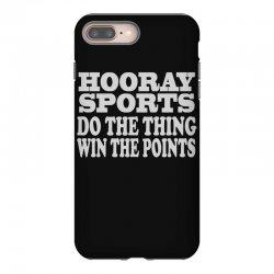 hooray sports win points iPhone 8 Plus Case   Artistshot