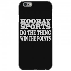 hooray sports win points iPhone 6/6s Case   Artistshot