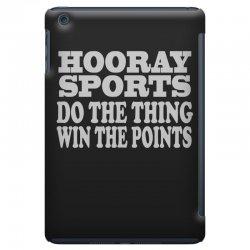 hooray sports win points iPad Mini Case   Artistshot