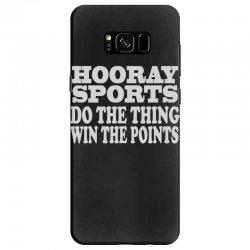 hooray sports win points Samsung Galaxy S8 Case   Artistshot