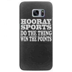 hooray sports win points Samsung Galaxy S7 Edge Case   Artistshot