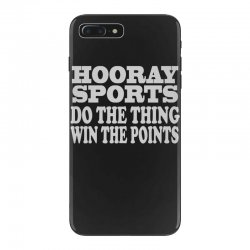 hooray sports win points iPhone 7 Plus Case   Artistshot