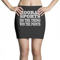 hooray sports win points Mini Skirts   Artistshot