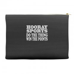hooray sports win points Accessory Pouches | Artistshot