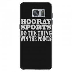 hooray sports win points Samsung Galaxy S7 Case   Artistshot