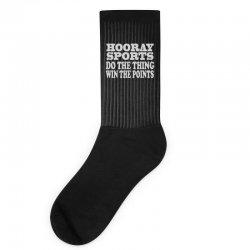 hooray sports win points Socks   Artistshot