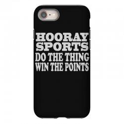 hooray sports win points iPhone 8 Case   Artistshot