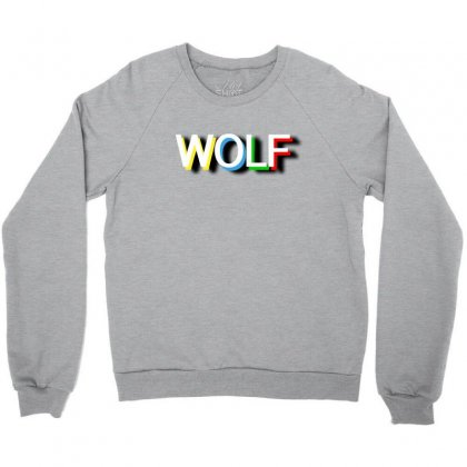 Wolf Crewneck Sweatshirt Designed By Killakam