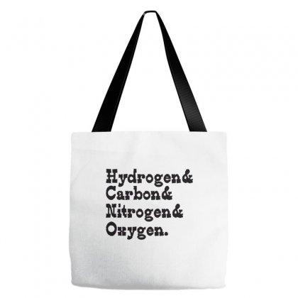 Hydrogen Carbon Nitrogen Oxygen Tote Bags Designed By Wisnuta1979