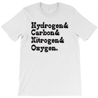 Hydrogen Carbon Nitrogen Oxygen T-shirt Designed By Wisnuta1979