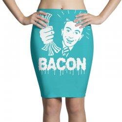 love bacont fun ny Pencil Skirts | Artistshot