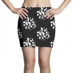 music notes Mini Skirts | Artistshot
