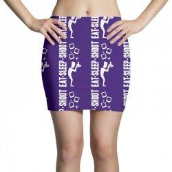 eat sleep shoot Mini Skirts | Artistshot