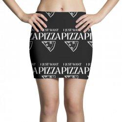 i just want pizza Mini Skirts   Artistshot