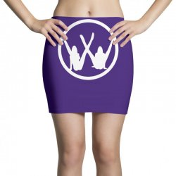 vw strip logo Mini Skirts   Artistshot