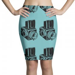 hasselblad vintage camera Pencil Skirts | Artistshot