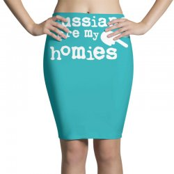 russians are my homies Pencil Skirts | Artistshot