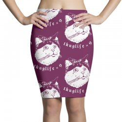 thug cat Pencil Skirts | Artistshot