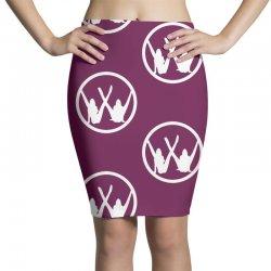 vw strip logo Pencil Skirts   Artistshot