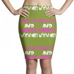 shut up dance with me Pencil Skirts | Artistshot