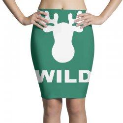 wild animal funny Pencil Skirts | Artistshot