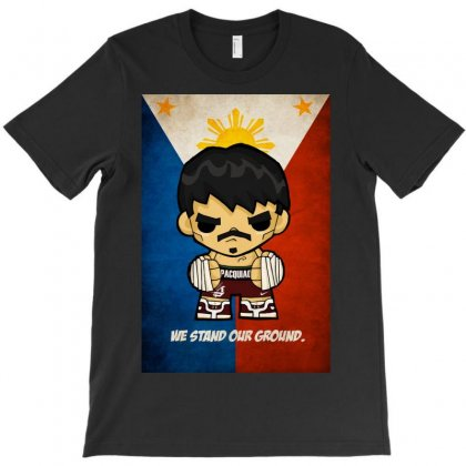 Manny Pacouiao We Stand Our Ground T-shirt Designed By Mdk Art