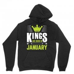 Kings Are Born In January Unisex Hoodie | Artistshot