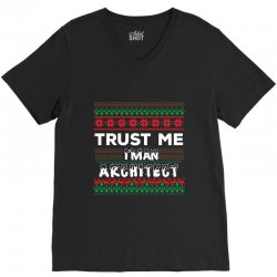 TRUST ME I'M AN ARCHITECT V-Neck Tee | Artistshot