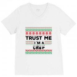 TRUST ME I'M A CHEF V-Neck Tee | Artistshot