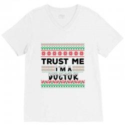 TRUST ME I'M A DOCTOR V-Neck Tee | Artistshot