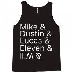 Mike & Dustin & Lucas & Will & Tank Top | Artistshot