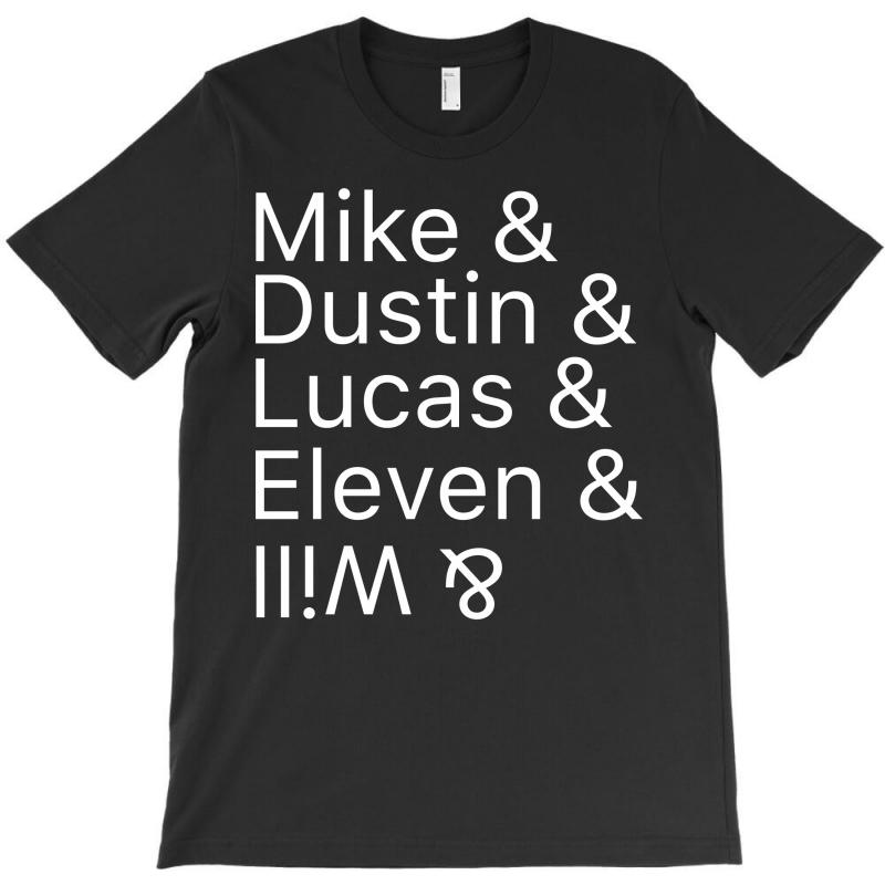 Mike & Dustin & Lucas & Will & T-shirt | Artistshot