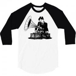 old school music 3/4 Sleeve Shirt | Artistshot