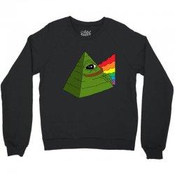 pepe the illuminati Crewneck Sweatshirt | Artistshot