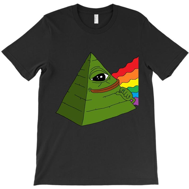 Pepe The Illuminati T-shirt | Artistshot