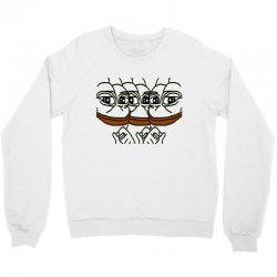 pepe the frogs Crewneck Sweatshirt | Artistshot