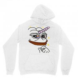 unicorn pepe the frog Unisex Hoodie   Artistshot
