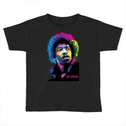 jimi hendrx Designed Toddler T-shirt   Artistshot
