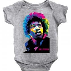 jimi hendrx Designed Baby Bodysuit   Artistshot