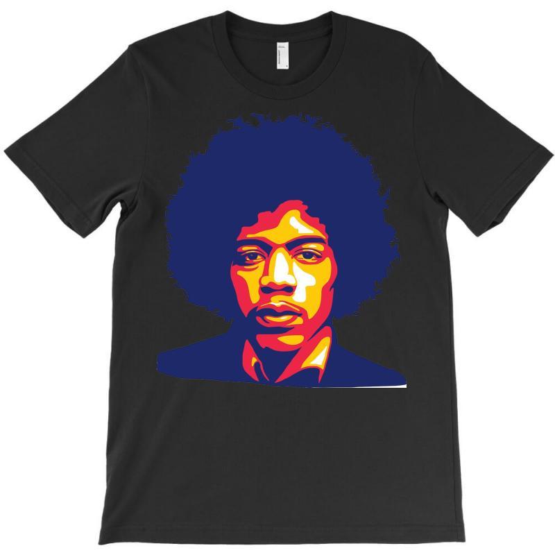Jimi Hendrix Fire T-shirt | Artistshot