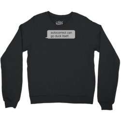 autocorrect Crewneck Sweatshirt | Artistshot