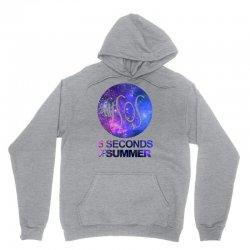 5sos five seconds of summer logo circle galaxy white Unisex Hoodie   Artistshot