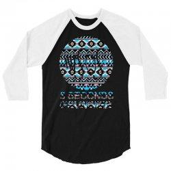 5sos five seconds of summer logo circle aztec tribal adult 3/4 Sleeve Shirt | Artistshot