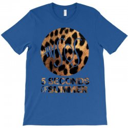 5sos five seconds of summer logo cheetah T-Shirt | Artistshot